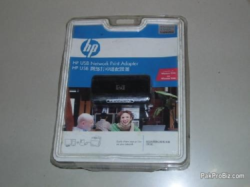 Picture of HP USB Network Print Adapter. Use One Printer at Network Sharing